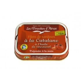 Filets de sardines à la catalane