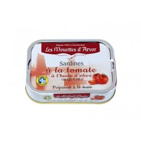 Sardines à la tomate et à l'huile d'olive vierge extra