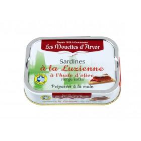 Sardines à la luzienne et à l'huile d'olive vierge extra