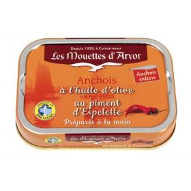 Anchois entiers au piment d'Espelette