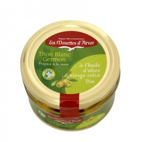 Thon blanc germon à l'huile d'olive vierge extra BIO