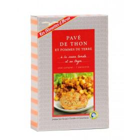 Pavé de thon et pommes de terre